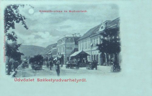Székelyudvarhely,Kossuth utca 1899