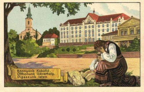 Könnyünk Küküllő,Otthonunk Udvarhely,Vigaszunk Isten.1920