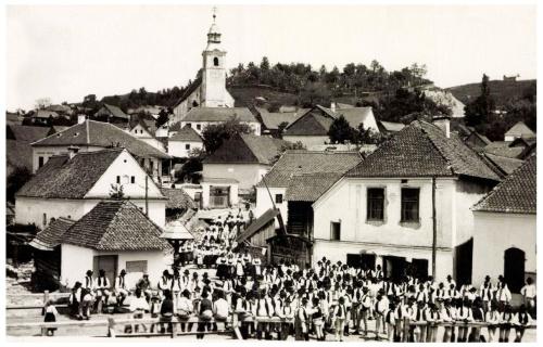 Lövéte:ünnepség,(Kováts István fényképész felvétele).1943