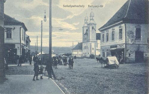Székelyudvarhely,Batthyány-tér 1913