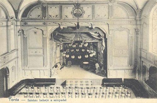 Torda,szinház belseje 1905