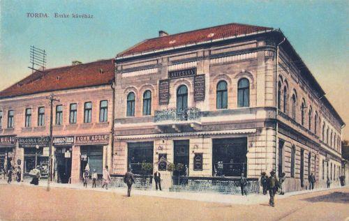 Torda:EMKE kávéház.1912