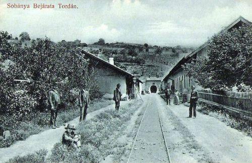Torda:bejárat a sóbányába.1912
