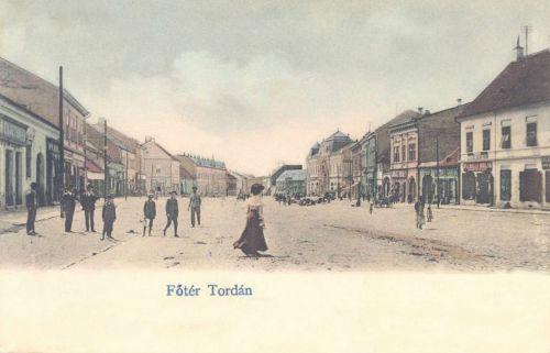 Torda,főtér 1904