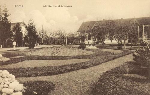 Torda:Állami Kertmunkás iskola(kertészeti,mezőgazdasági),1913.