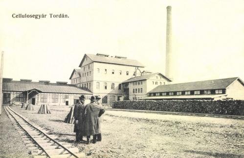 Torda:papirgyár (celluloze gyár),1916.