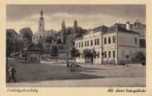 Székelyudvarhely:Állami Elemi Leányiskola.1944