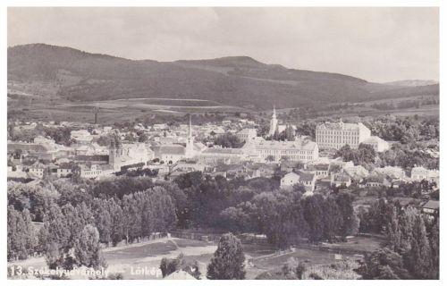 Székelyudvarhely:látkép.1942