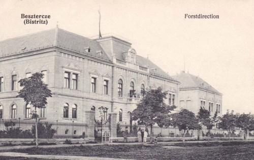 Beszterce:Erdőigazgatóság.1915