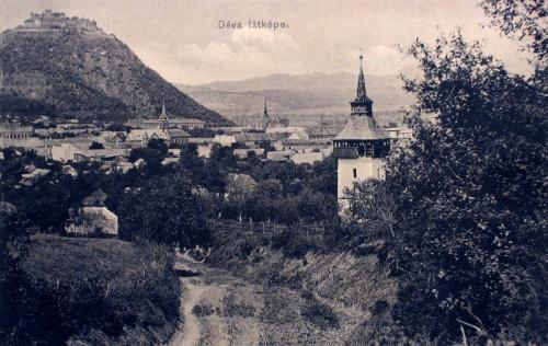 Déva:látkép.1912
