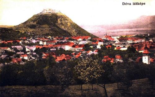 Déva:látképe.1914