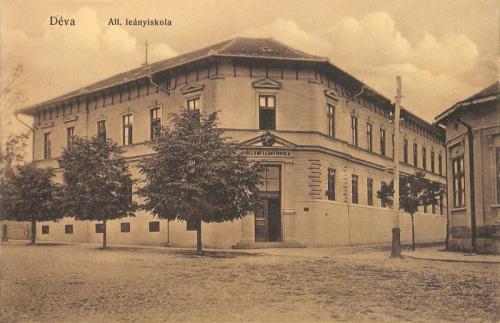 Déva:Állami Leányiskola.1912