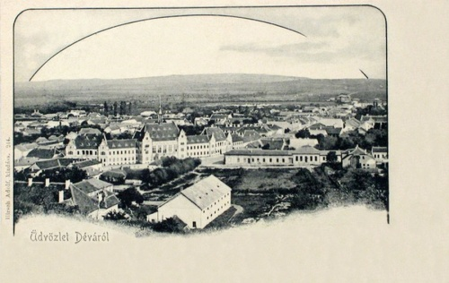 Déva:látkép.1903
