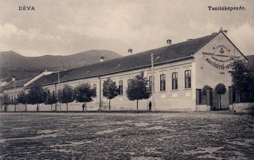 Déva:Magyar Királyi Tanitóképző Intézet.1910