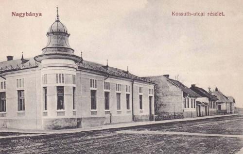 Nagybánya:Kossuth utca.1912