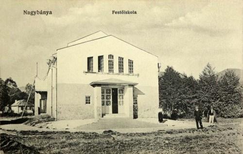Nagybánya:Festőiskola.1912
