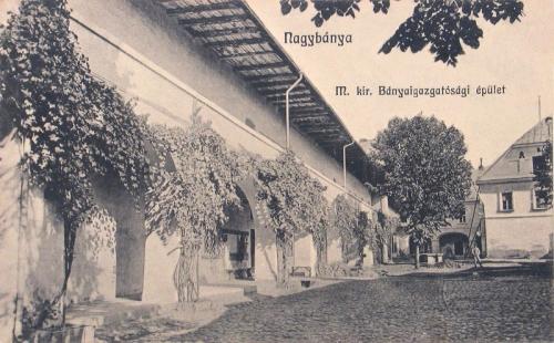 Nagybánya:Bányaigazgatóság épülete.1914