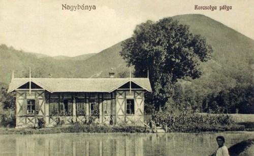 Nagybánya:korcsolya pálya.1918