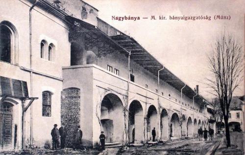 Nagybánya:Magyar Királyi Bányaigazgatóság.1915
