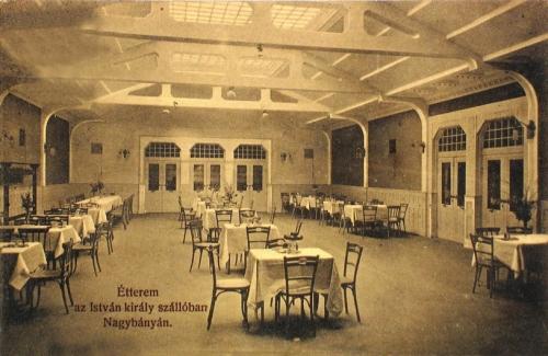 Nagybánya:étterem az Isván szállóban.1912
