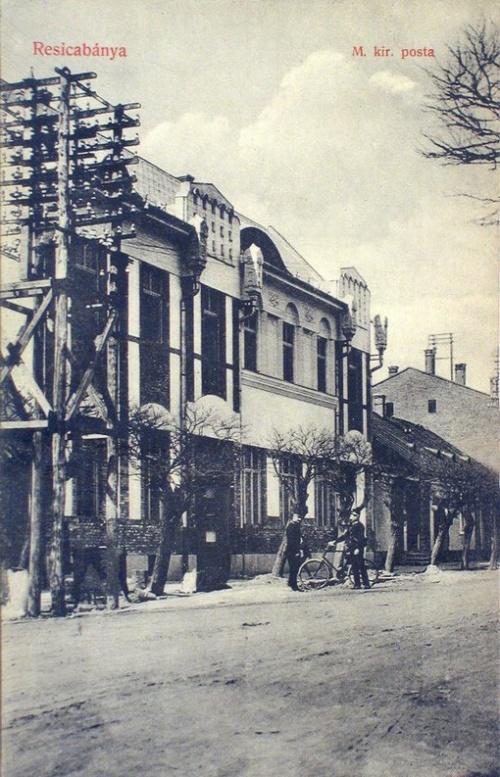 Resiczabánya:magyar királyi posta.1908