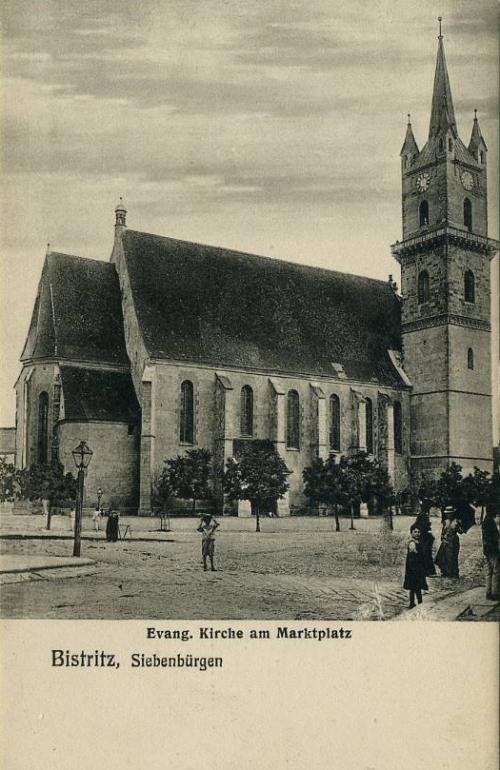 Beszterce:evangélikus templom.1906