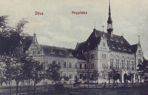 Déva:vármegyeháza.1909