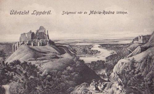 Máriaradna:solymosi vár.1912