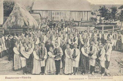 Beszterce:szász népviselet.1907
