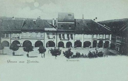 Beszterce:gabona piac sor.1899