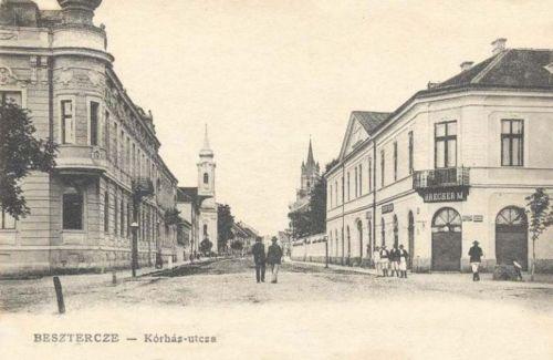 Beszterce:Korház utca.1904