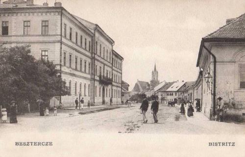 Beszterce:utca részlet.1904