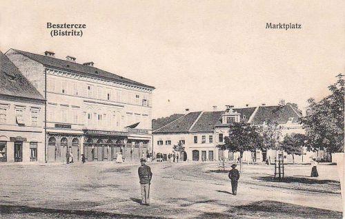 Beszterce:piac tér.1908