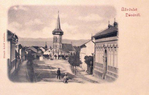 Déva:református templom.1902