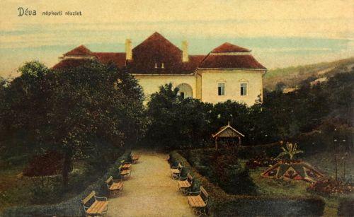 Déva:Magna Curia parkja.1909
