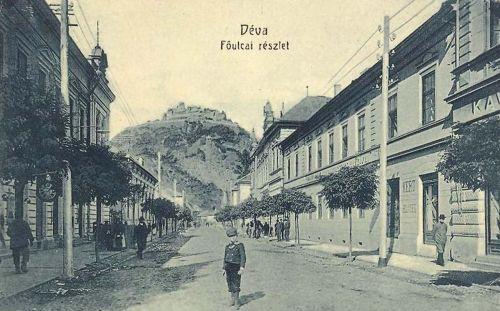Déva:Fő utca.1908