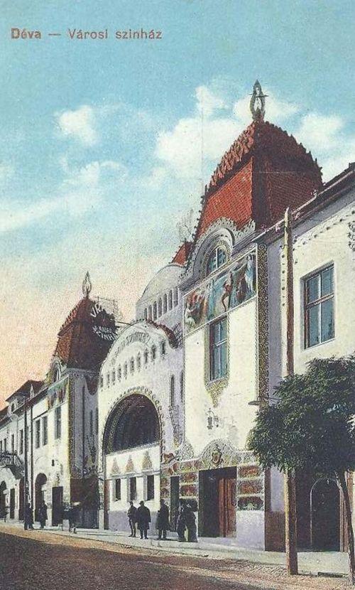 Déva:városi szinház.1916