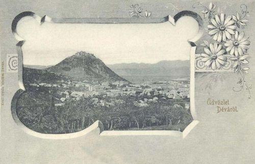 Déva:vár.1903
