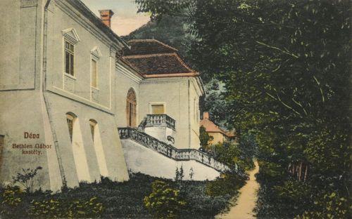 Déva:Bethlen Gábor kastély.1909