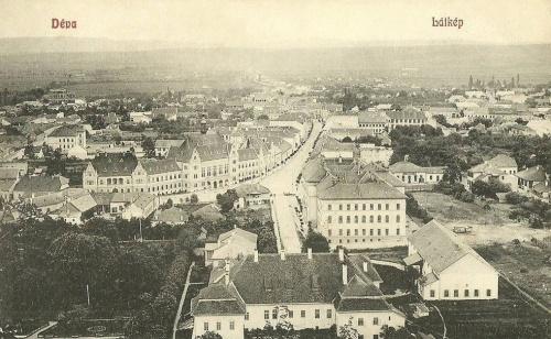 Déva:látkép.1909
