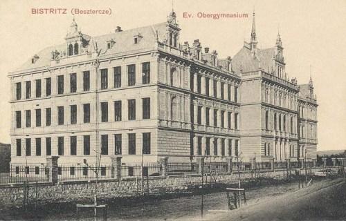 Beszterce:evangélikus főgimnázium.1911