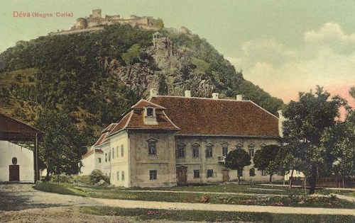 Déva:Magna Curia (Bethlen kastély).1908