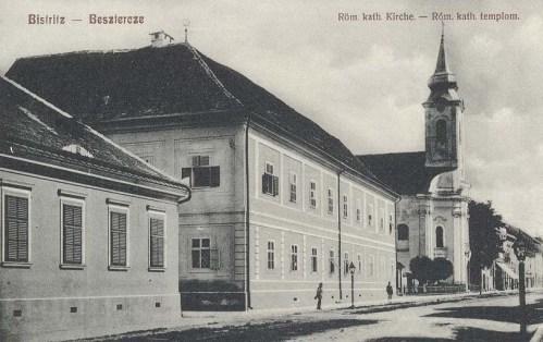 Beszterce:katolikus templom.1909