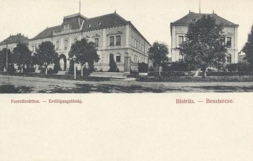 Beszterce:Erdőigazgatóság.1905