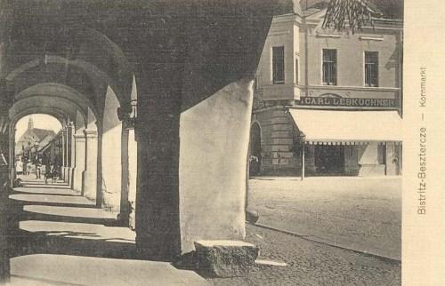 Beszterce:gabona piac.1907
