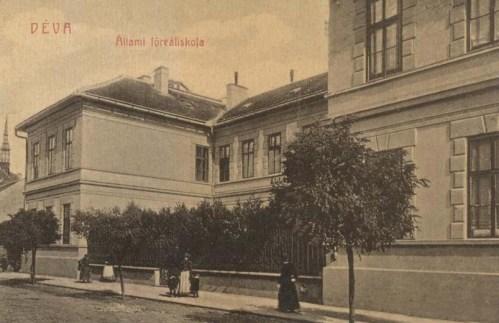 Déva:Állami Főreáliskola.1908