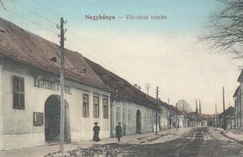 Nagybánya:vár utca,Rendőrkapitányi hivatal.1912