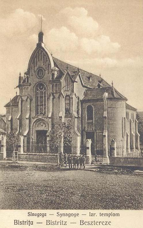 Beszterce:zsinagóga,izraelita templom.1932
