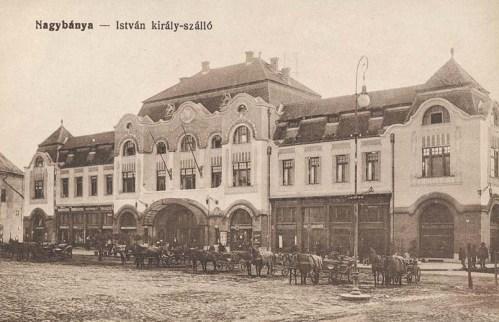 Nagybánya:István király szálló.1915