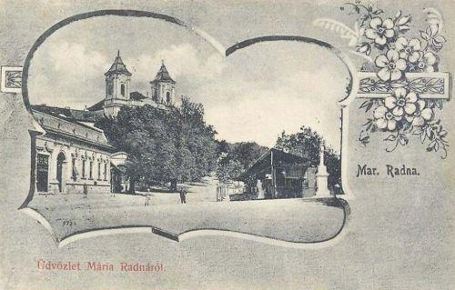 Máriaradna:kegytemplom.1902